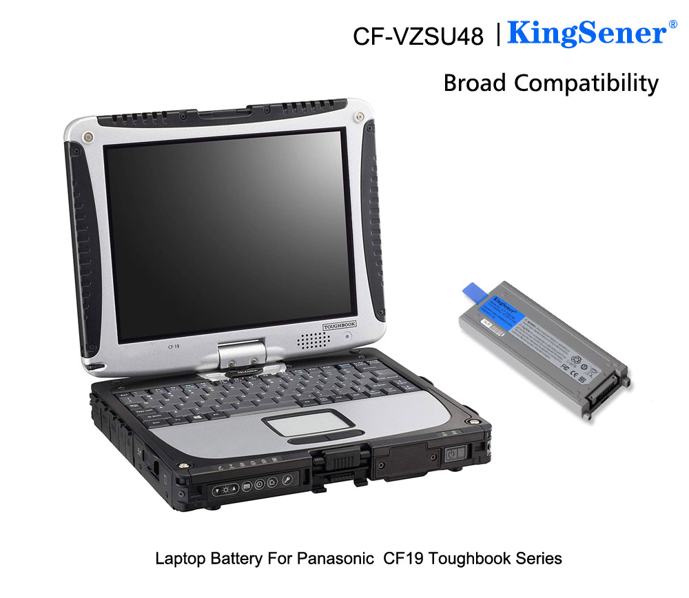 Image 5 - KingSener Japanese Cell New CF VZSU48 Battery for Panasonic CF VZSU48 CF VZSU48U CF VZSU28 CF VZSU50 CF 19 CF19 Toughbook-in Laptop Batteries from Computer & Office