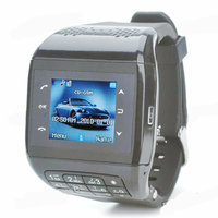 Q5 Unlocked Touch Screen GSM Wrist Watch Mobile Cell Phone Bluetooth Keypad MP3 Black