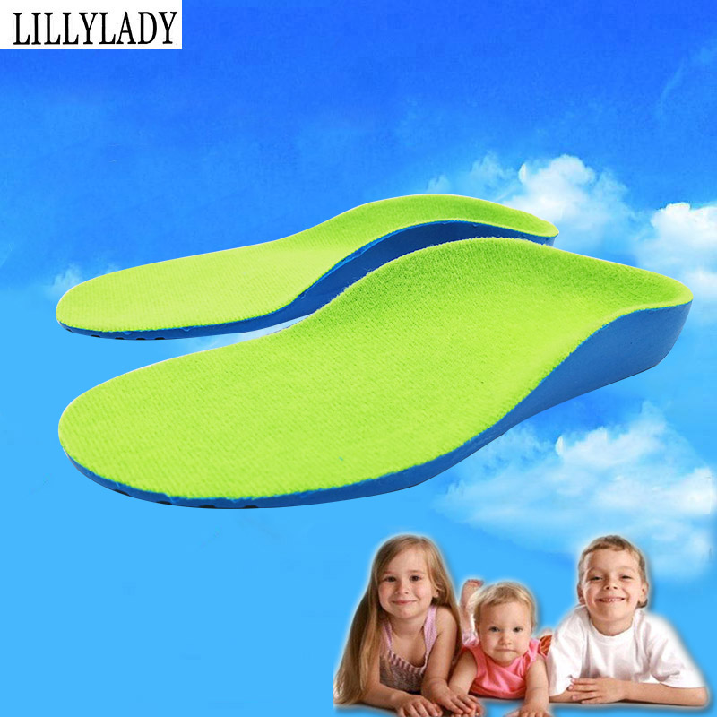 Children Kids Orthotics Flat Foot Arch Support Shoes Insoles Flat Foot Correction Health Feet Care Orthopedic Pad For Feet