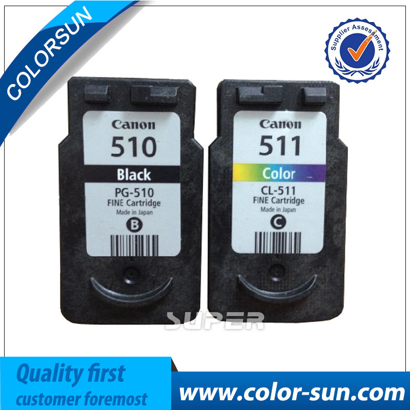 US $35 99 |For CANON PG510 Compatible PG 510 & CL 511 Ink Cartridge PIXMA  MP240/MP250/MP260/MP270/MP280/MP480/MP490/MP495/MX320/MX330-in Ink