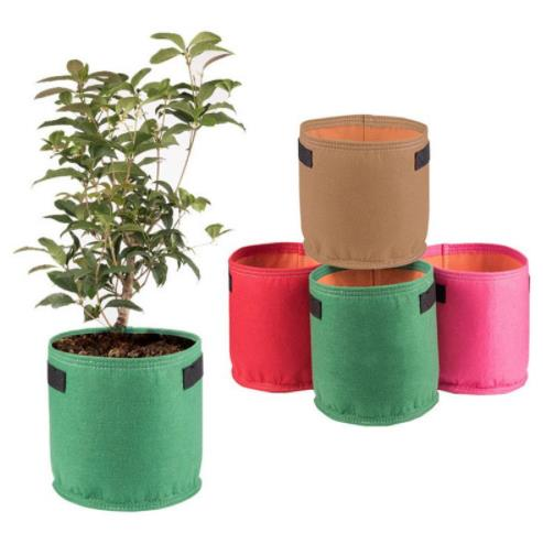 AD 9 colors fang colors Black Thickening Fabric Pot Plant Pouch Root Container Grow Bag Tools