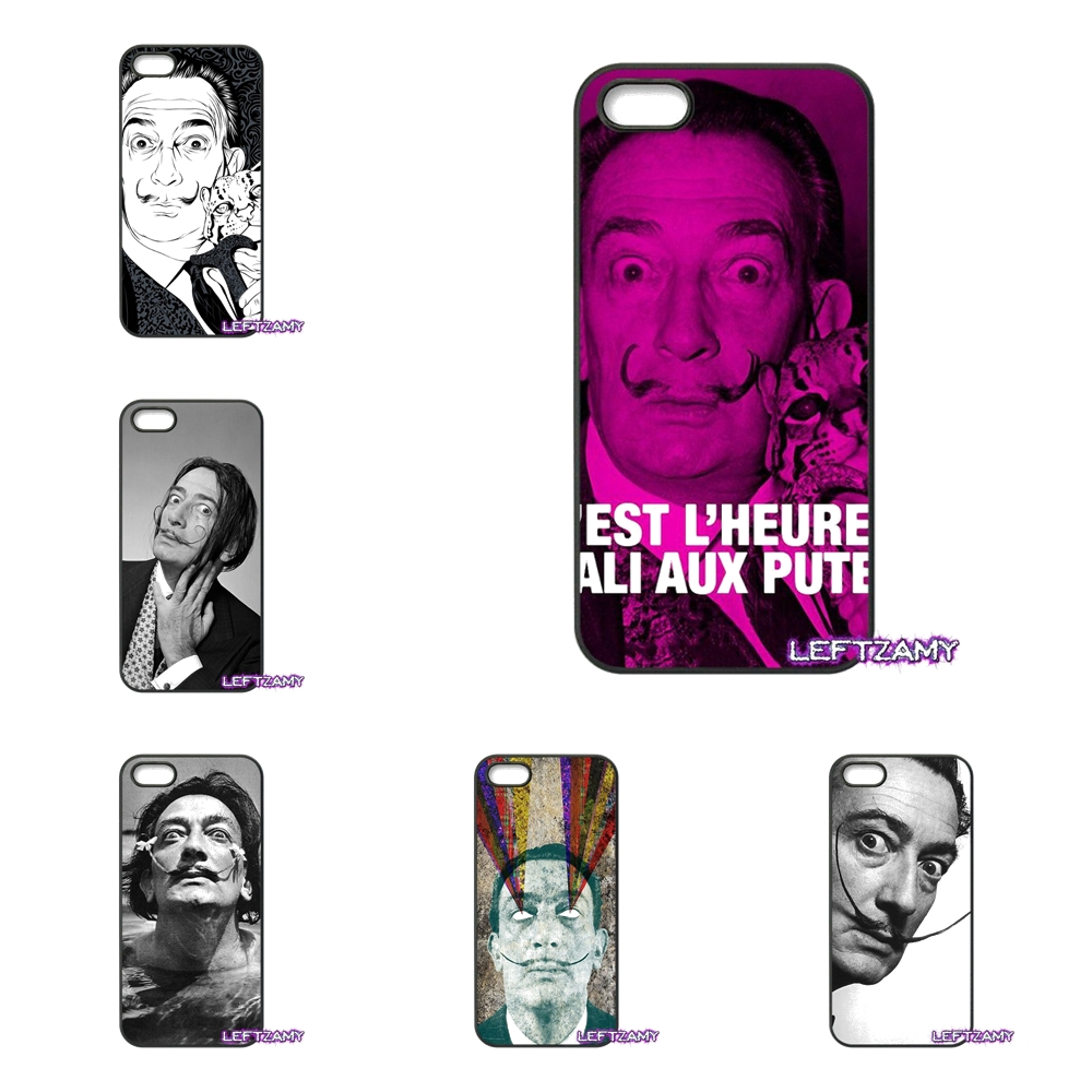 Salvador Dali Hard Phone Case Cover For iPhone 4 4S 5 5C SE 6 6S 7 8 Plus X 4.7 5.5 iPod Touch 4 5 6