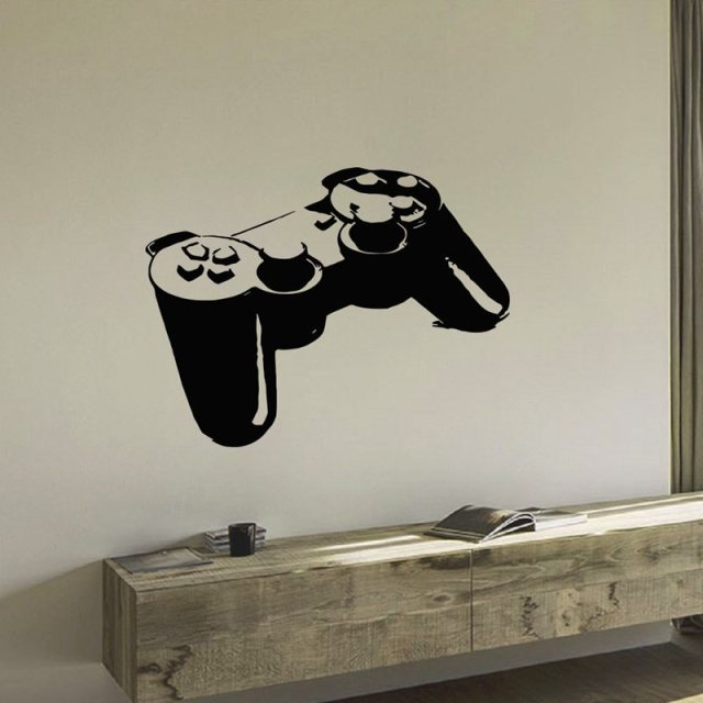 Video Game Controller Vinyl Wall Decal Part 90