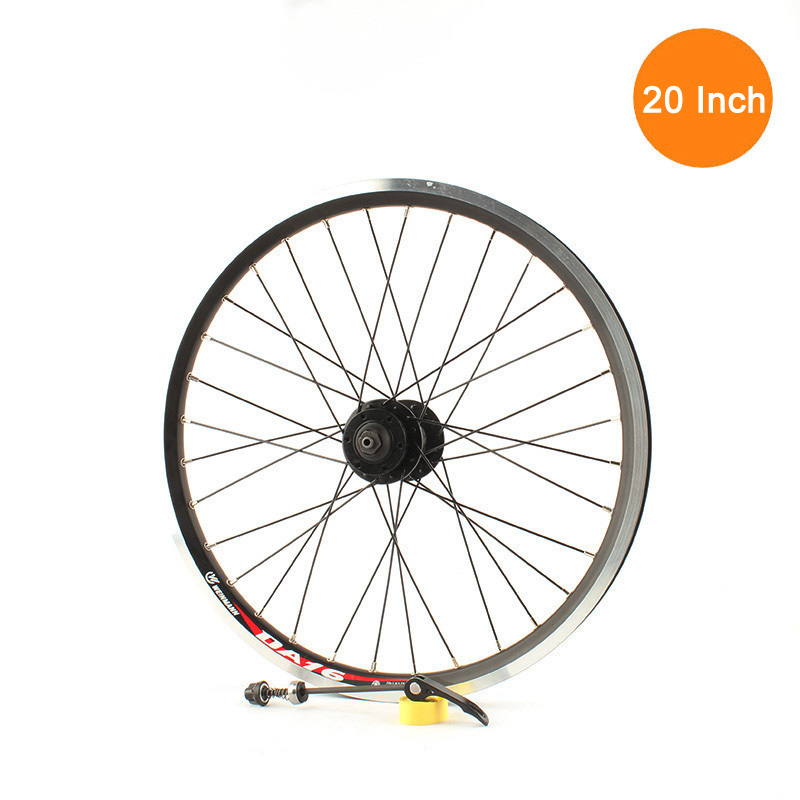 <font><b>20</b></font> Inch Bicycle <font><b>Wheels</b></font> Folding Bike <font><b>Wheels</b></font> <font><b>BMX</b></font> <font><b>Wheel</b></font> <font><b>20</b></font> Inch <font><b>Wheel</b></font> 406 Ball Bearing Disc Brake V Brake Cassette Hub Screwed Hub image