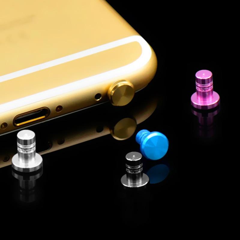 SIANCS Mini 3.5mm Jack Plug Anti Dust Plug Aluminum Alloy Dust Plug for iPhone 5 5S 6 plus Samsung PC Phone Accessories