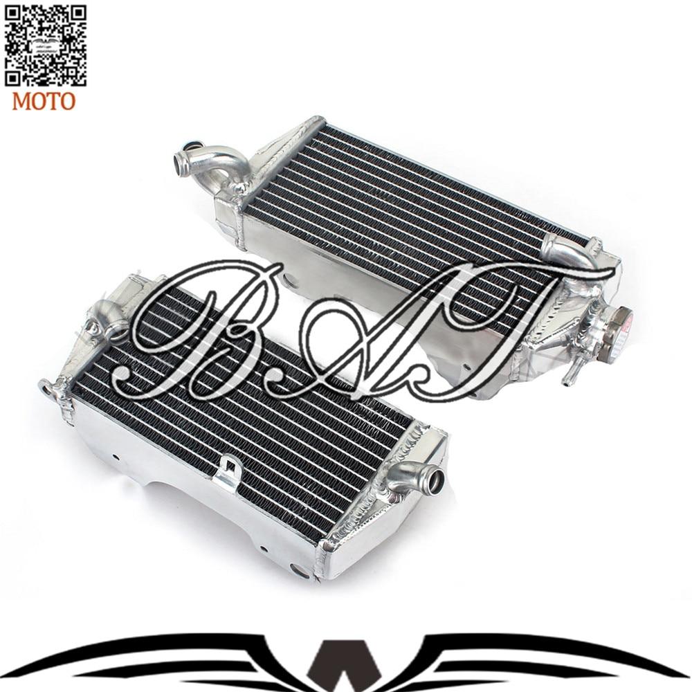 Motorcycle Parts Aluminium Cooling Replacement Radiator for Honda CRF 450 R 13 Motorbike Radiator