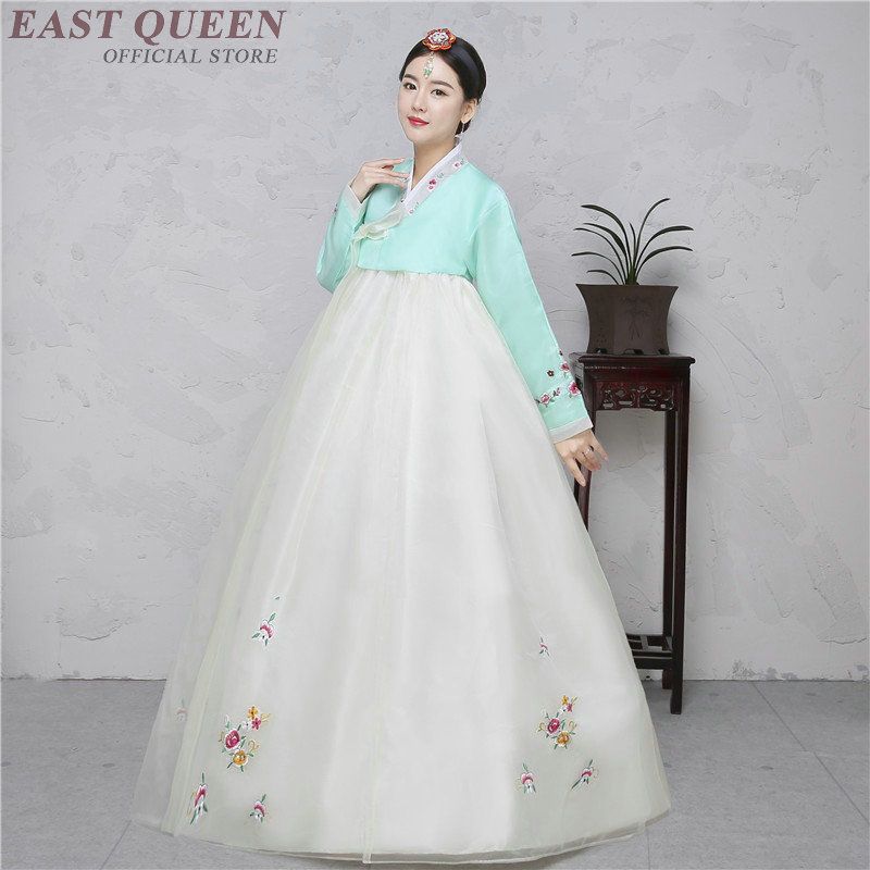 Koreanische hanbok traditionellen kleid kleidung nationalen koreanische traditionellen kleid hanbok hochzeit kostüm DD1093 Y