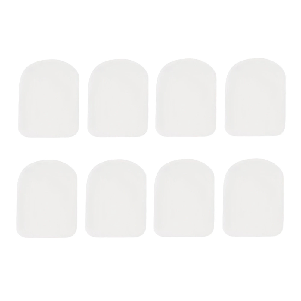 Transparent 8 Mouthpiece Patches Pad 0.5mm 0.8mm For Soprano Saxophone