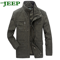 AFS JEEP 2017 Famous Brand The Newest Spring Autumn High Quality Fashion Men S Jacket Multi