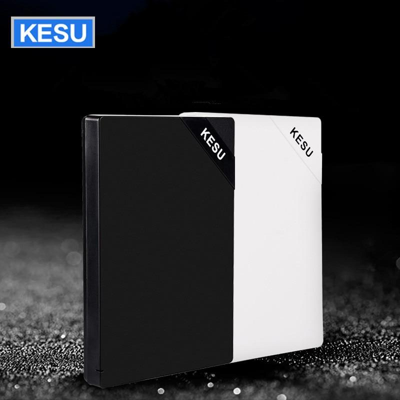 Original Kesu 2,5 Zoll Externe Festplatte Lagerung Usb 3.0 Hdd Tragbare Externe Hd Festplatte Für Desktop Laptop Server Up-To-Date-Styling Externer Speicher