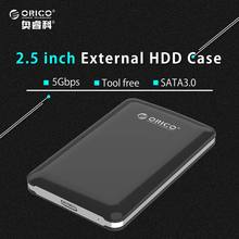ORICO 2579S3-BK USB3.0 2.5 External HDD Case SATA3.0 HDD Enclosure (No Hard Disk) — Black