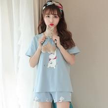 Women's Cute Unicorn Printed Pajama Set
