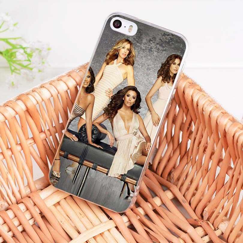 MaiYaCaอเมริกันทีวีซีรีส์Desperate Housewivesอ่อนโทรศัพท์กรณีสำหรับiPhoneของApple iPhone 8 7 6 6S Plus X 5 5S SE 5C 4 4S