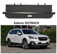 Car Rear Trunk Security Shield Cargo Cover For Subaru OUTBACK 2015 2016 2017 2018 High Qualit Black Beige Auto Accessories