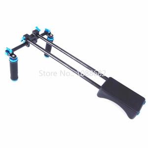 Image 3 - Jadkinsta dslr リグ 5D2 6D D800 カメラマウントヘッドハンドヘルドグリップビデオ肩パッドサポートシステム 15 ミリメートルロッドクランプブラケットスタンド