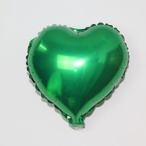 Love Decorations Marriage Ballon Supplies Heart Shape Promotion10 Inch Aluminium Foil Air Balloon Kid Toys Wedding Party Say D20 in Ballons Accessories from Home Garden