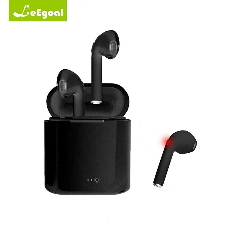 I7 TWS Mini Drahtlose Bluetooth Ohrhörer Musik Sport Earbuds In-ohr Headset Freisprecheinrichtung Kopfhörer Mit Mic Für Iphone Xiaomi Huawei