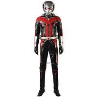Dropshipping Captain America Civil War Ant Man 2 Costume Adult Halloween Costumes For Men Superhero Ant man Cosplay Costume
