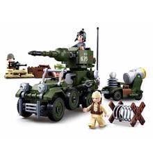 SLPF 332pcs 4 In1 Military Tank Chariot Assembling Model Kit Building Blocks Children Toys Compatible Legoing Kids Gift New K27 цены