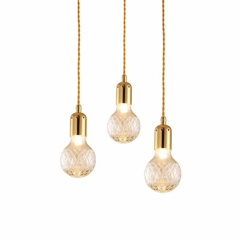Buy Lee Broom Crystal Pendant Lights Industrial living room Kitchen Led Hanging Lamp Decor dining room corridor stair light fixtures for only 30 USD