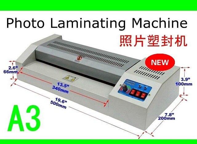 aliexpress: acheter a3 plastifieuse taille film photo machine