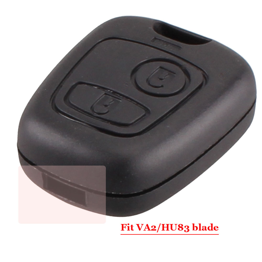 Good quality 2 Button Remote Car Key Case Shell For peugeot 307 or Citroen C1 C2 C3 Pluriel C4 C5 C8 Xsara Picasso Cover acs 6172ve c1 1 good quality motherboard