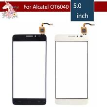 10pcs/lot For Alcatel One Touch Idol X OT6040 6040 6040D 6040E 6040A Touch Screen Digitizer Sensor Outer Glass Lens Panel стоимость