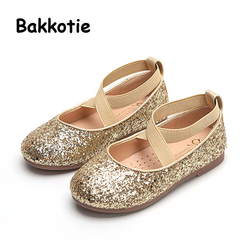 Bakkotie 2019 Spring New Fashion Baby Girl Glitter Shoes Toddler Black Flat  Children Sweet Moccasins Brand Soft Shoes Mary Jane 7cea1be26736