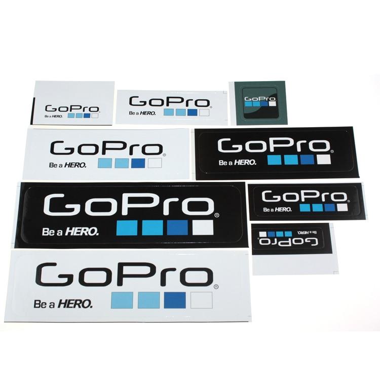 Nova Chegada Adesivos Para Go pro Hero 3 Hero3 accessoeries ir pro Ícone  Etiqueta 9 Pçs lote GP101 Frete Grátis z4 423168a341f34