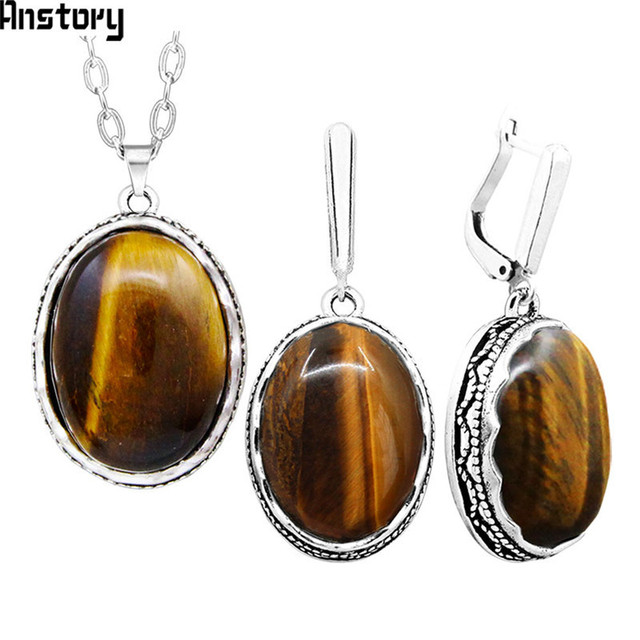 Oval Tigers Eye Stone...