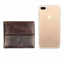 hot deal buy j.m.d 100% genuine leather men's wallets retro and portable business card holder credit card case short wallets 8157-3c/8157-3q