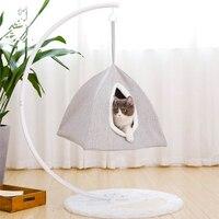 Cat Bed Pet Hammock Pet's Nest Cats Hammock Kitty Nest Pet House Hanging Cat's Nest Hanging Basket Dual purpose Security Amusing