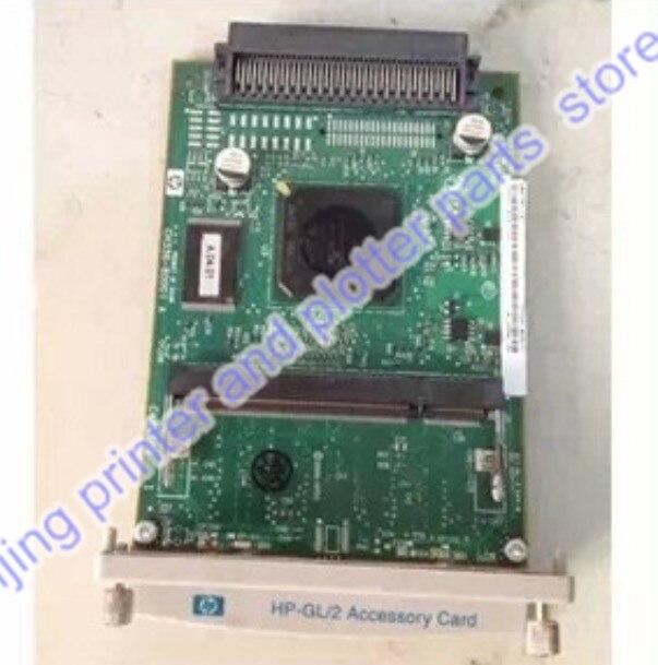 Used original CH336-67001 CH336-60001 CH336-80001 GL/2 Accessory Processor Card formatter PC board Designjet 510 510PLUS plotter
