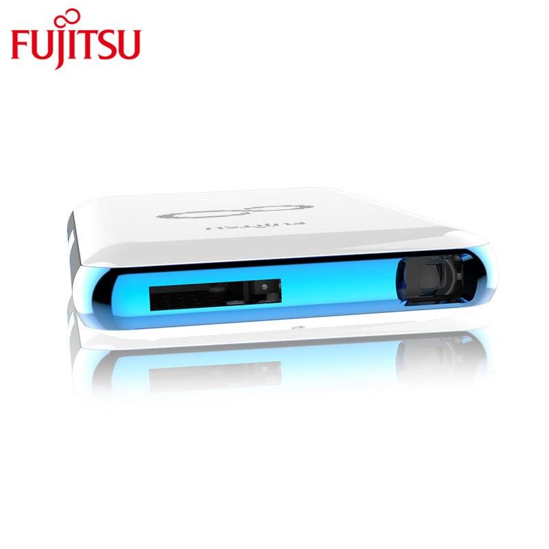 Fujitsu original cool pond portable smart touch projector for Portable smart projector