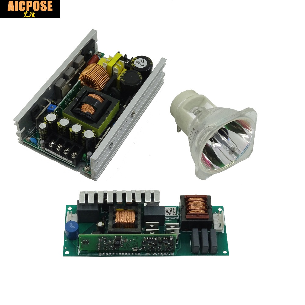 1 ENSEMBLES 7R 230 W Faisceau Mobile Tête 5R 200 w Carte D'alimentation 230-380 V 28 V 24 V 12 V 36 V avec de Faisceau adapté alimentation De La Lampe ballast