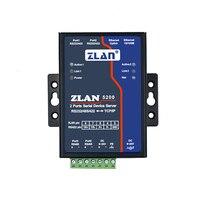 Servidor Serial port 2 2 Estrada 232 estrada 485 vez para Ethernet 2 porta Ethernet ZLAN5200 turn     -