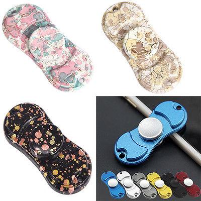 Pudcoco Tri Spinner Fidgets Anti Stress Sensory Fidget Spinner Hand Spinner Kids Toys