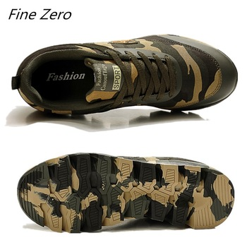 Autumn Spring Men's Women's Running Shoes Unisex Sport Outdoor Sneakers Breathable Women Camouflage green Walking Jogging Shoes 1