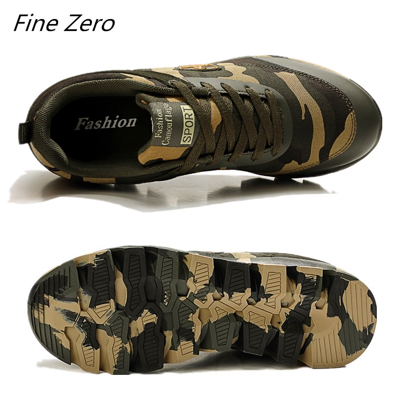 best camouflage air cushion women shoes