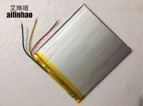 new 3 Wire Battery Universal For 7 prestigio multipad color 2 3g PMT3777_3G 3777 Tablet Battery 3.7V Polymer li-ion+Tracking taipower onda 8 inch 9 inch tablet pc battery 3 7v 6000mah 3 wire 2 wire lithium battery
