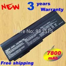 9 cell Аккумулятор Для Ноутбука Asus N53S N53J N53JQ N61V n61w N43 А32-N61 A32-M50 бесплатной доставкой