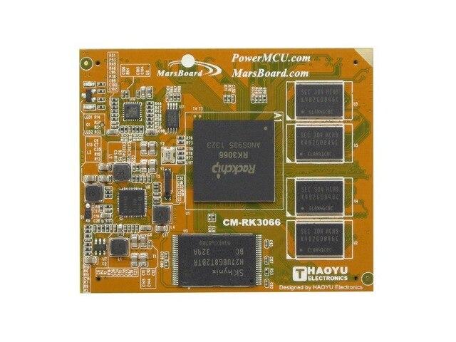 CM-RK3066 Марс Марс Доска Основной плате для MarsBoard Модуль ЦЕНТРАЛЬНОГО ПРОЦЕССОРА, Бортовой Rockchip RK3066, Двухъядерный ARM Cortex A9 CPU