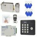 DIYSECUR Impermeable Control Remoto 125 KHz Rfid Cerradura Electrónica De Control de Acceso del Lector de Tarjetas de Control de Acceso de la Puerta de Seguridad Kit