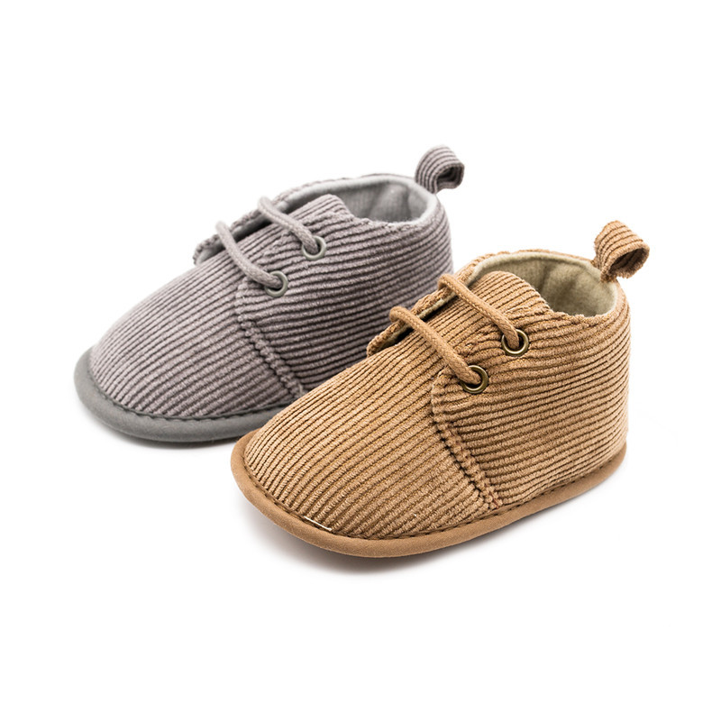 2019 New Corduroy Baby Cloth Shoes Easy-to-walk First Shoes Baby Toddler First Walkers  Baby Boy Shoes  Moccasins