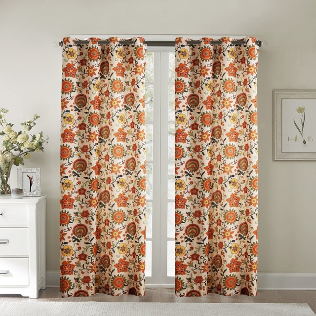 Aliexpress.com : Buy TWOPAGES(One Panel)Window Curtains Panels ...