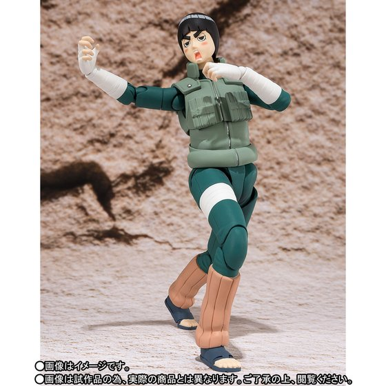 Image 3 - 100% Original BANDAI Tamashii Nations S.H.Figuarts (SHF) Exclusive Action Figure   Rock Leebandai tamashii nationsaction figurenaruto shippuden -