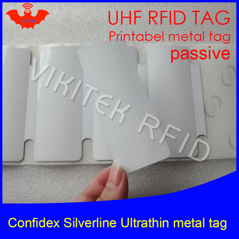 Back To Search Resultssecurity & Protection Cheap Price Uhf Rfid Anti-metal Tag Confidex Silverline 915mhz 868mhz Impinj Monza4qt Epcc1g2 6c Small Printable Pet Passive Rfid Pet Label Bracing Up The Whole System And Strengthening It Access Control