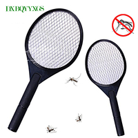 Hot Net Dry Cell Hand Racket Electric Swatter Home Garden Pest Control Insect Bug Bat Wasp
