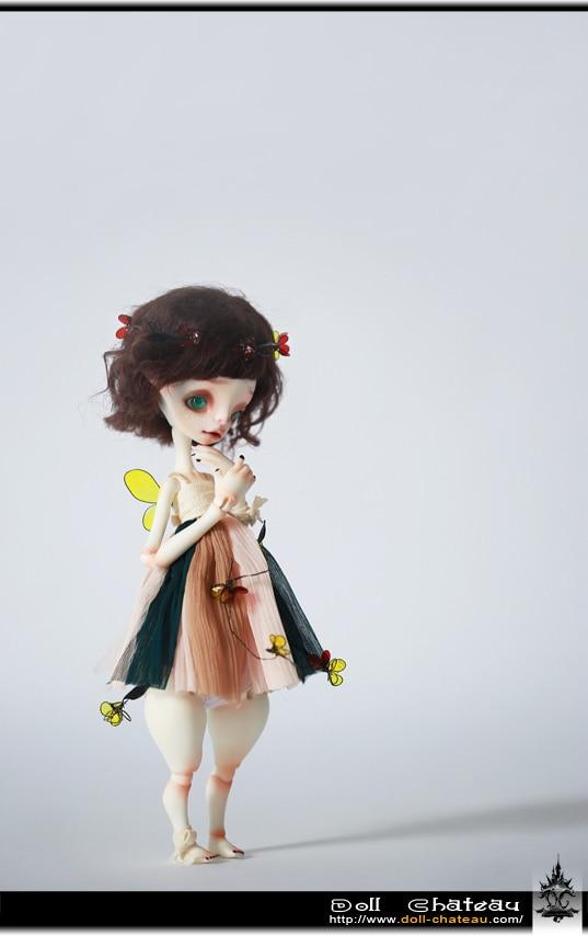 BJD doll DC / 6 stars Betty naked baby AoaoMeow-in Dolls