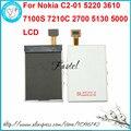 Для Nokia C2-01 5220 3610 7100 S 7210C 2700 5130 5000 Новый Высокое Качество Телефон ЖК-экран дигитайзер дисплей + Инструменты + бесплатная доставка